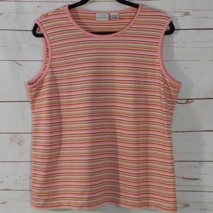 White Stag Stretch XL Pink Sleeveless Shirt